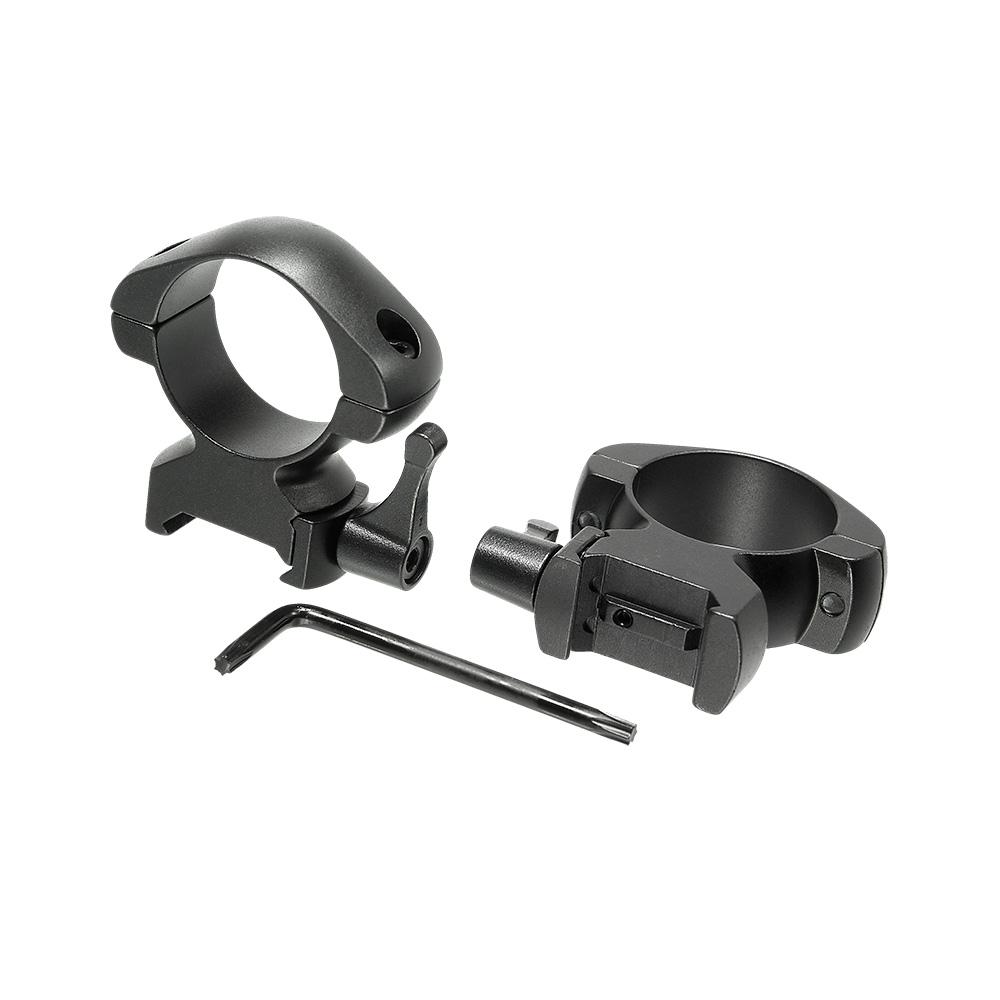 Кольца для прицела Veber E 3021 H Weaver быстросъёмные, Прицелы и дальномеры - арт. 1002280442