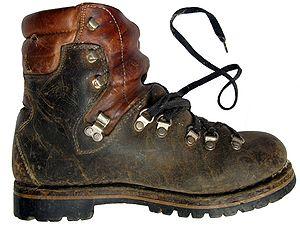 Тяжёлый горный ботинок из кожи, Австрия(1982) 9c564f0c1ea