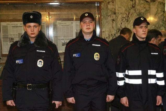 Форма нового образца полиции зимняя — melange deco.