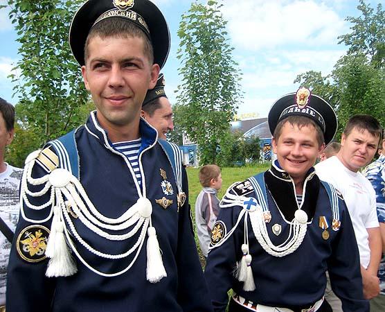 Российская морская форма пилотка