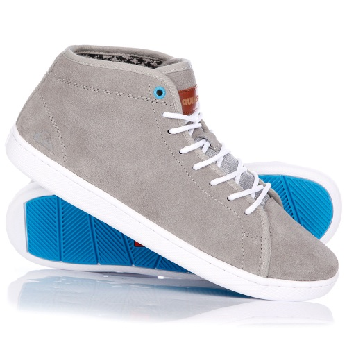 QUIKSILVER COVE MID GREY WHITE BLUE