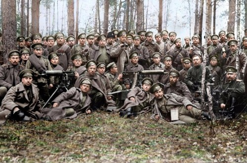 Коллективное фото солдат